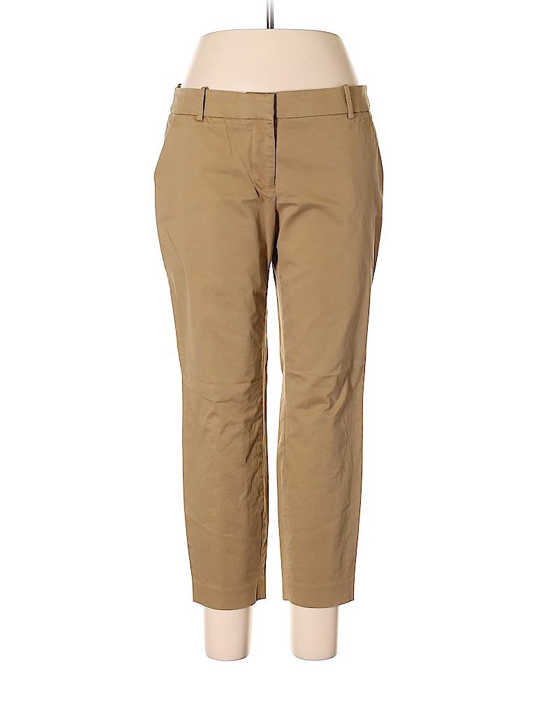 J. Crew Women Khakis Size 12