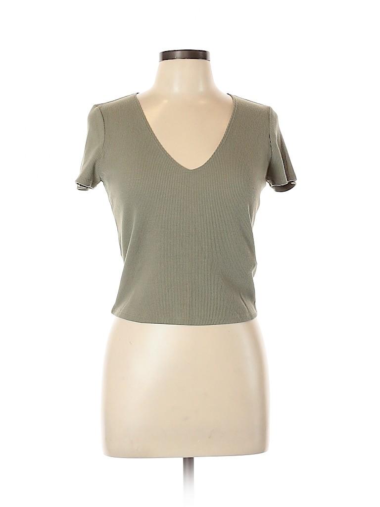 Forever 21 Women Short Sleeve T-Shirt Size XL