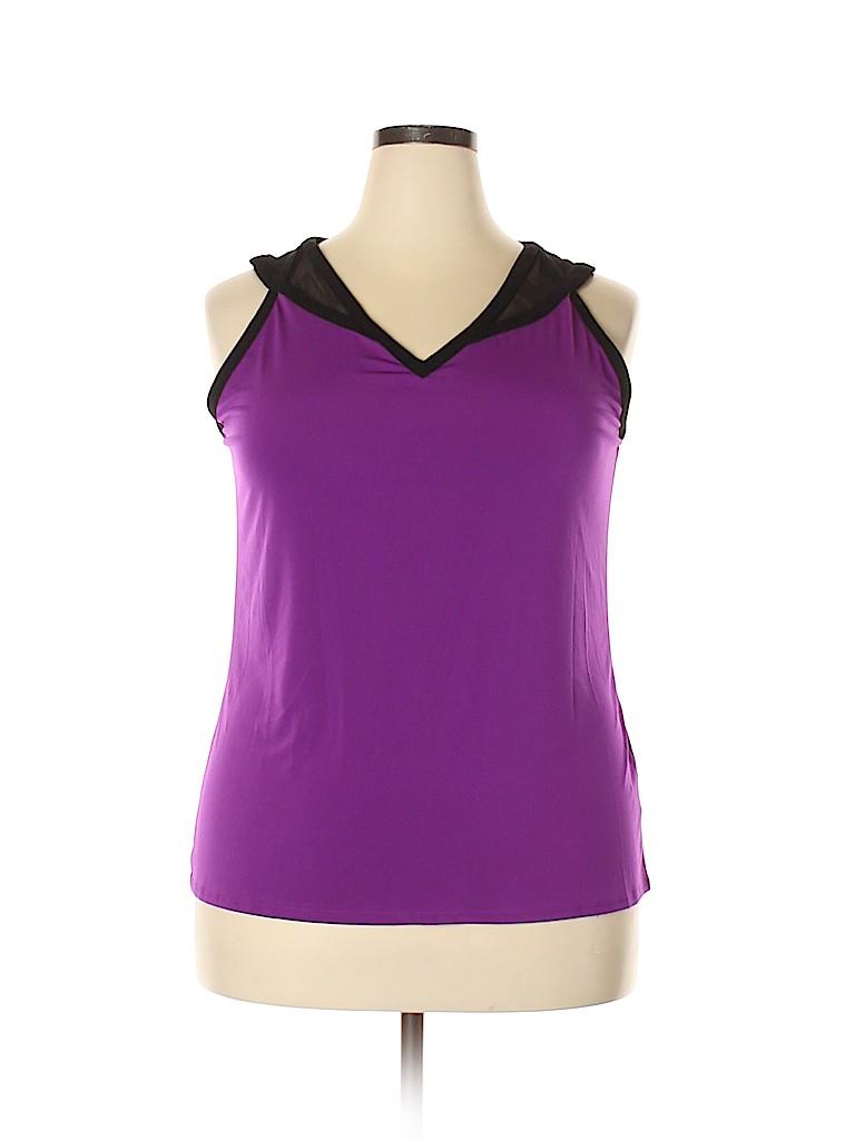 Worthington Women Sleeveless Top Size XL