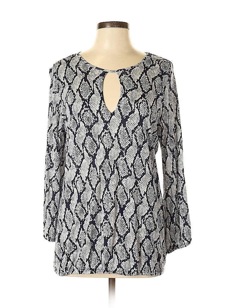 MICHAEL Michael Kors Women 3/4 Sleeve Top Size L