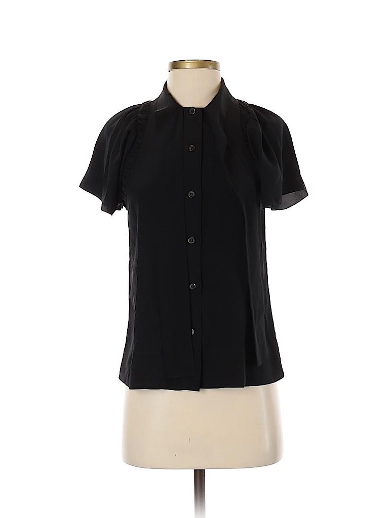 Prada Women Short Sleeve Blouse Size 40 (IT)