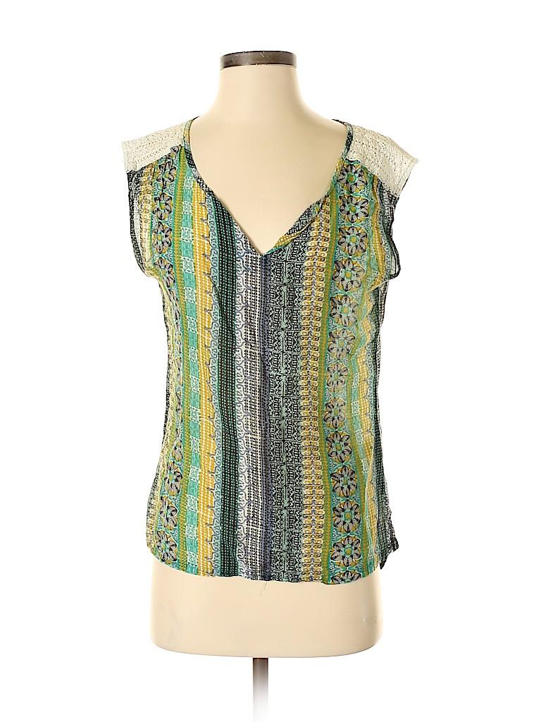 PrAna Women Short Sleeve Blouse Size XS