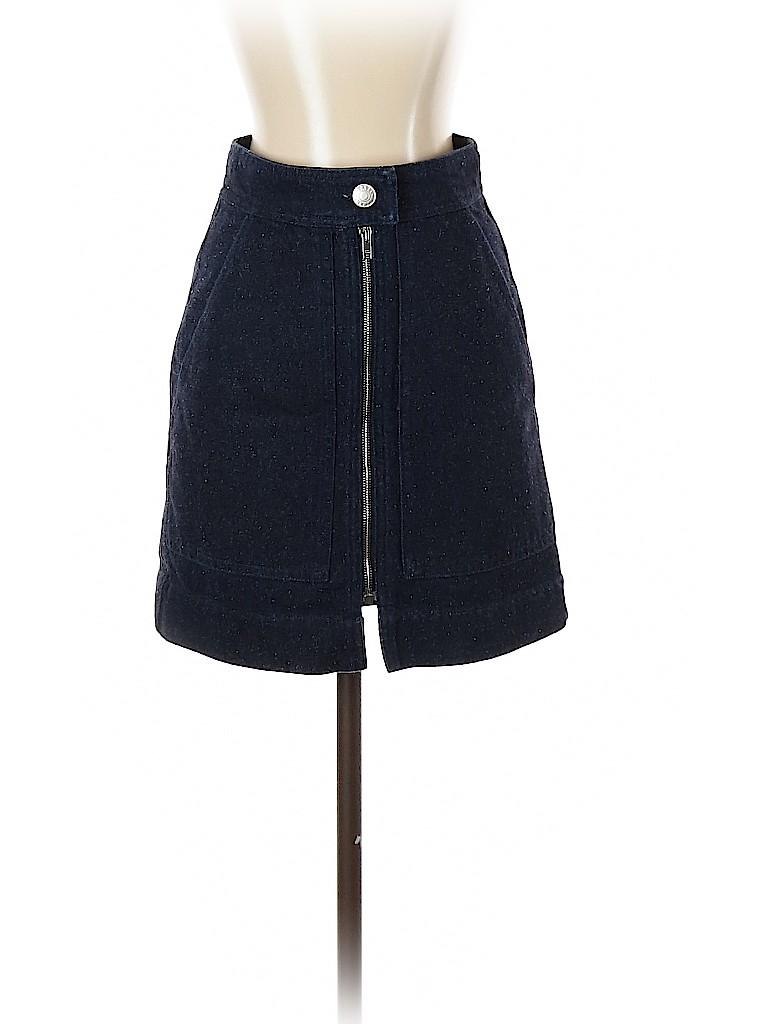Isabel Marant Women Denim Skirt Size 34 (FR)
