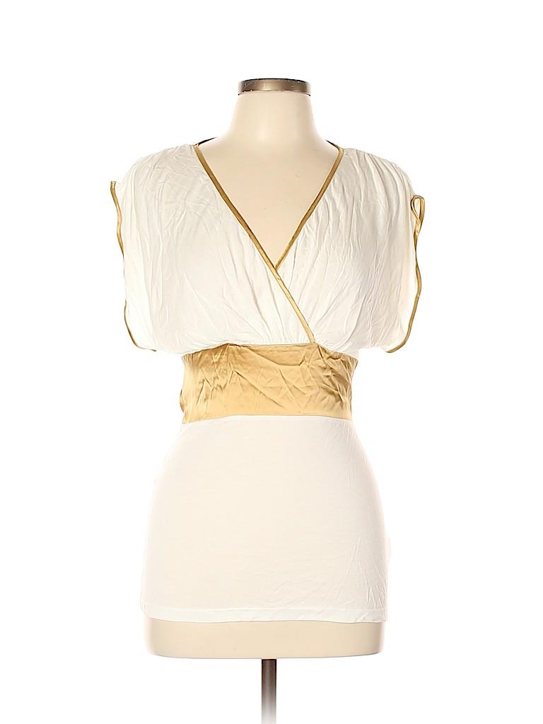 Arden B. Women Short Sleeve Top Size L