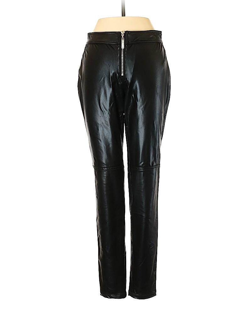 Walter Women Faux Leather Pants Size 0