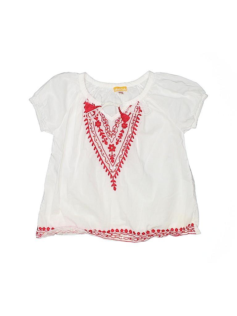 Almirah Girls Short Sleeve Blouse Size 4 - 5