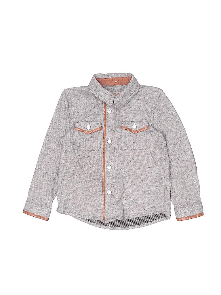 Genuine Kids from Oshkosh Boys Long Sleeve Button-Down Shirt Size 3T