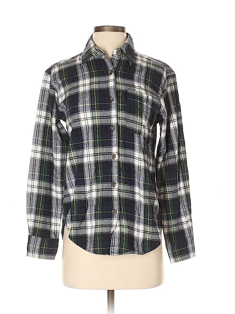 Mimi Chica Women Long Sleeve Button-Down Shirt Size S