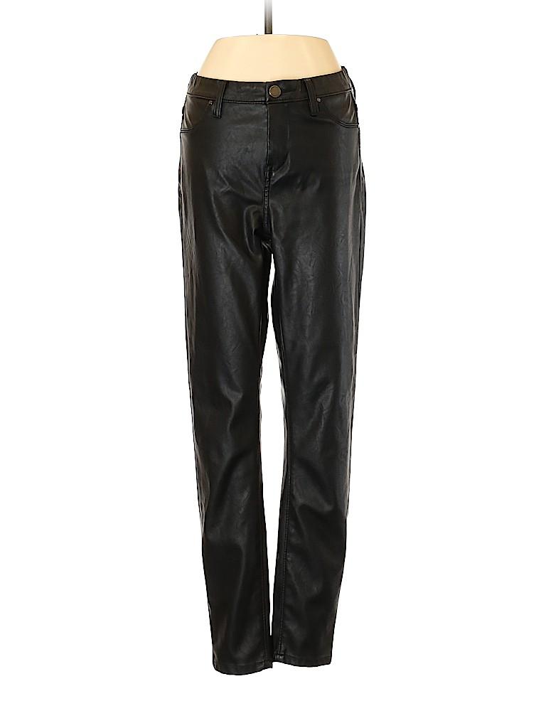 Blank NYC Women Faux Leather Pants Size 26 (Plus)