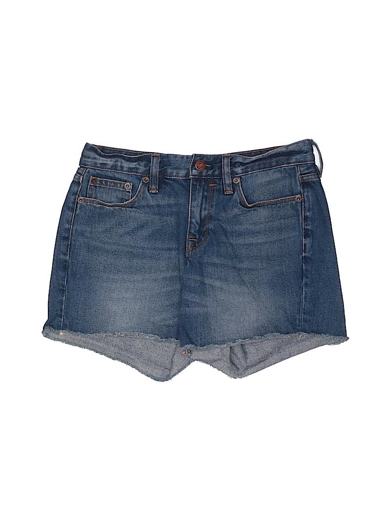 J. Crew Women Denim Shorts Size 24 (Plus)