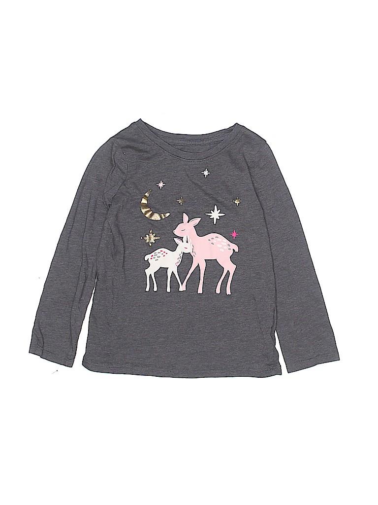 Cat & Jack Girls Long Sleeve T-Shirt Size 4T