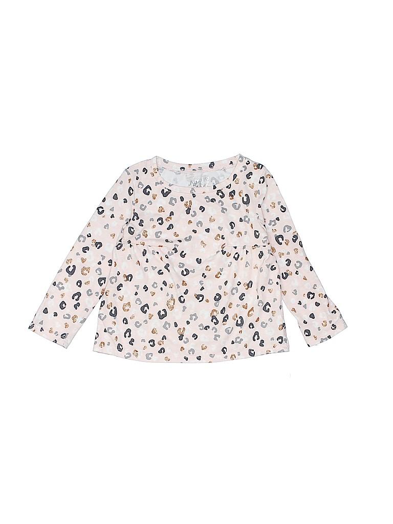 Jumping Beans Girls Long Sleeve T-Shirt Size 2T