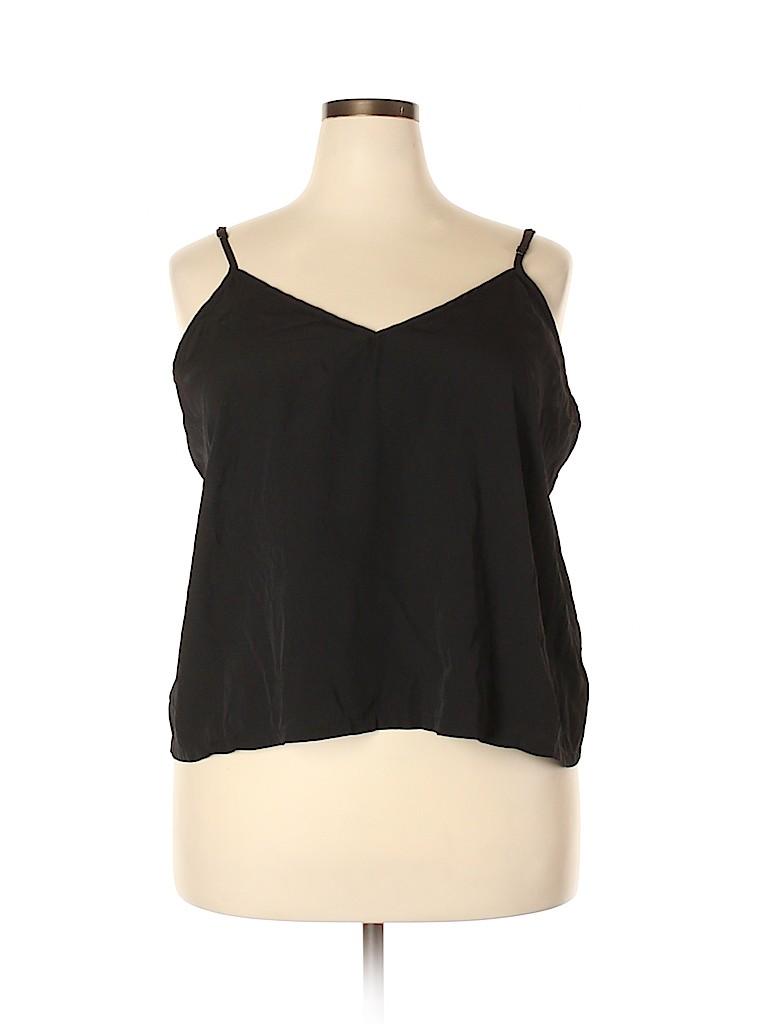 Carmakoma Women Long Sleeve Blouse Size 24 Plus (XL) (Plus)