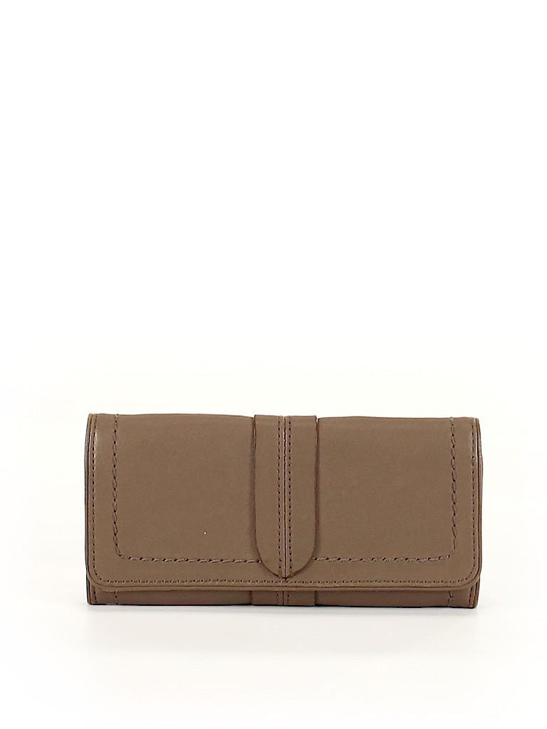 Banana Republic Women Leather Wallet One Size