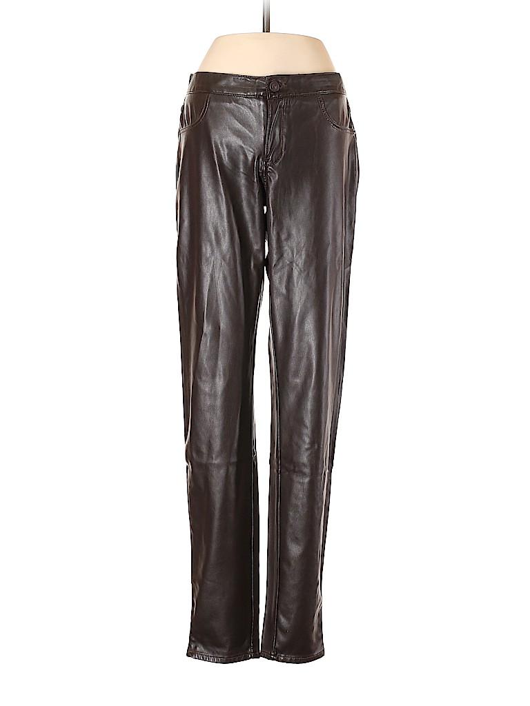 Abercrombie & Fitch Women Faux Leather Pants 28 Waist