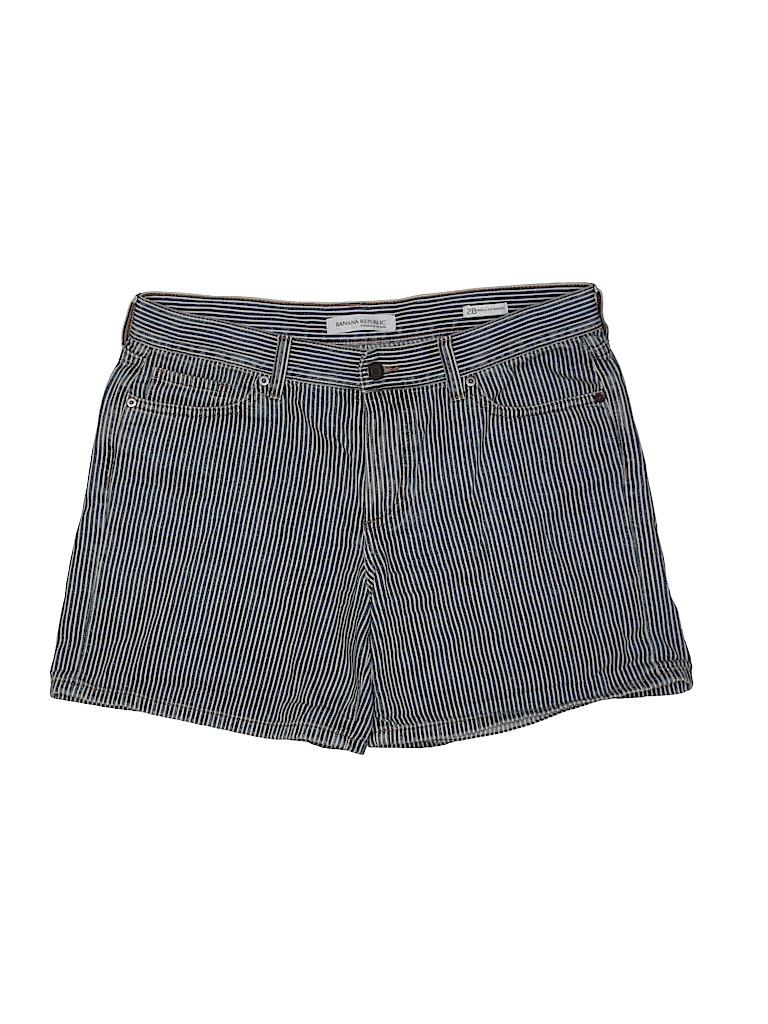 Banana Republic Women Denim Shorts Size 28 (Plus)