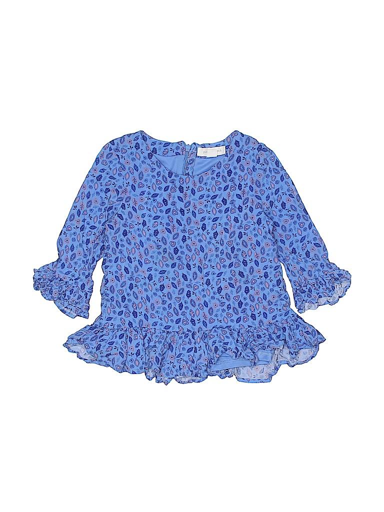 Pumpkin Patch Girls 3/4 Sleeve Blouse Size 6