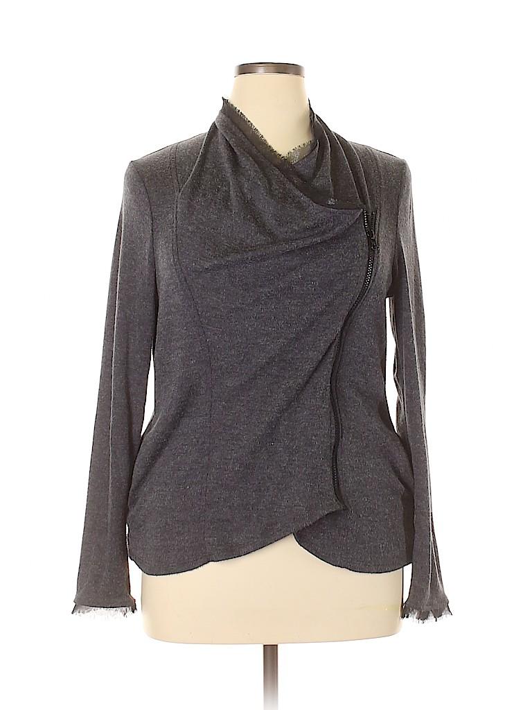 Simply Vera Vera Wang Women Jacket Size XL