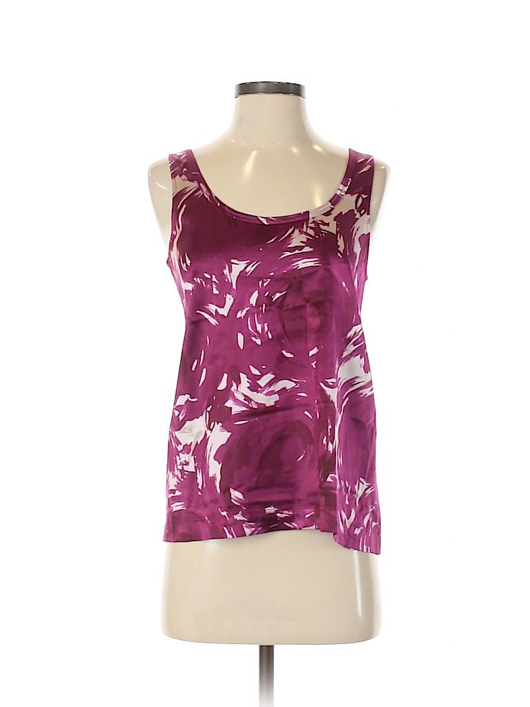 Theory Women Sleeveless Silk Top Size S