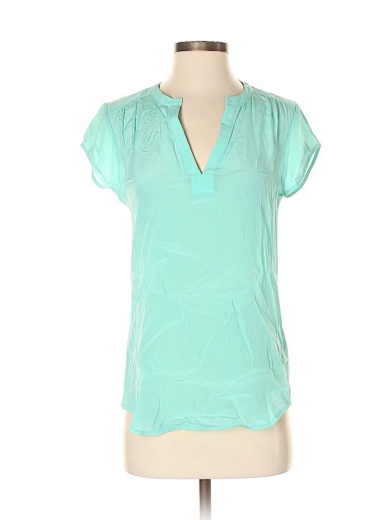 Babaton Women Short Sleeve Silk Top Size XS