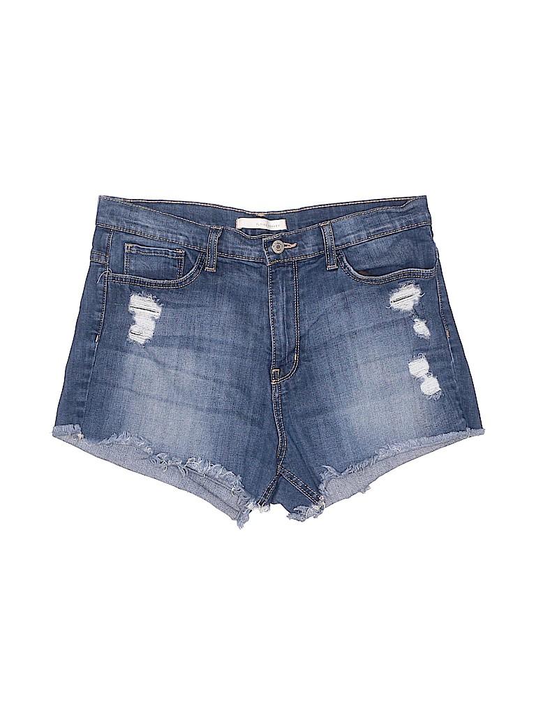 Flying Monkey Women Denim Shorts Size 30 (Plus)