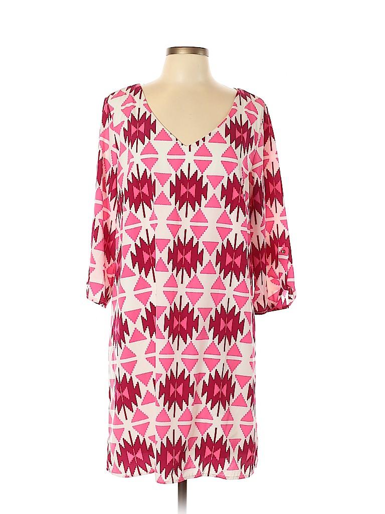 Pink Blush Women Casual Dress Size XL (Maternity)