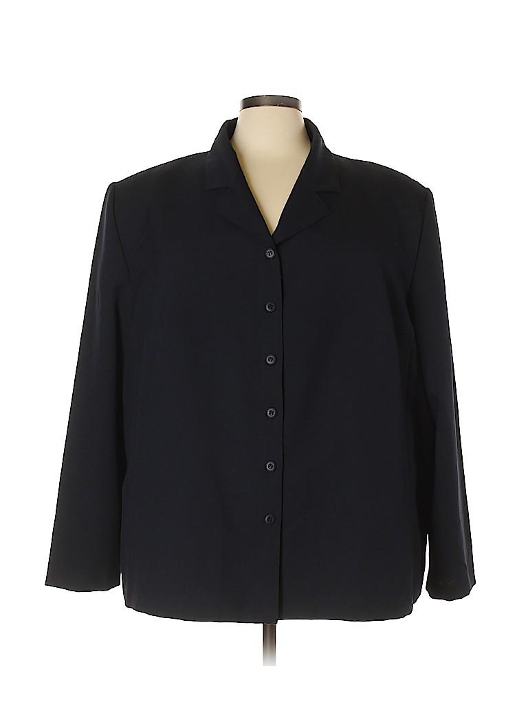 Fashion Bug Women Blazer Size 32 (Plus)
