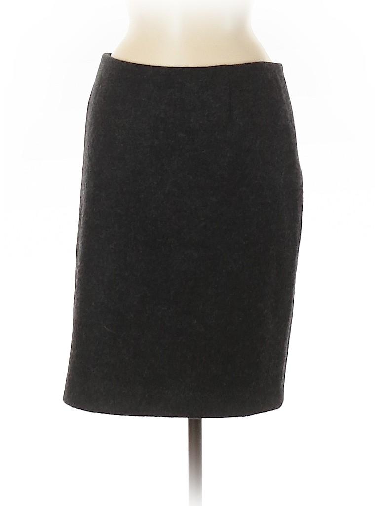 Bottega Veneta Women Wool Skirt Size 42 (IT)