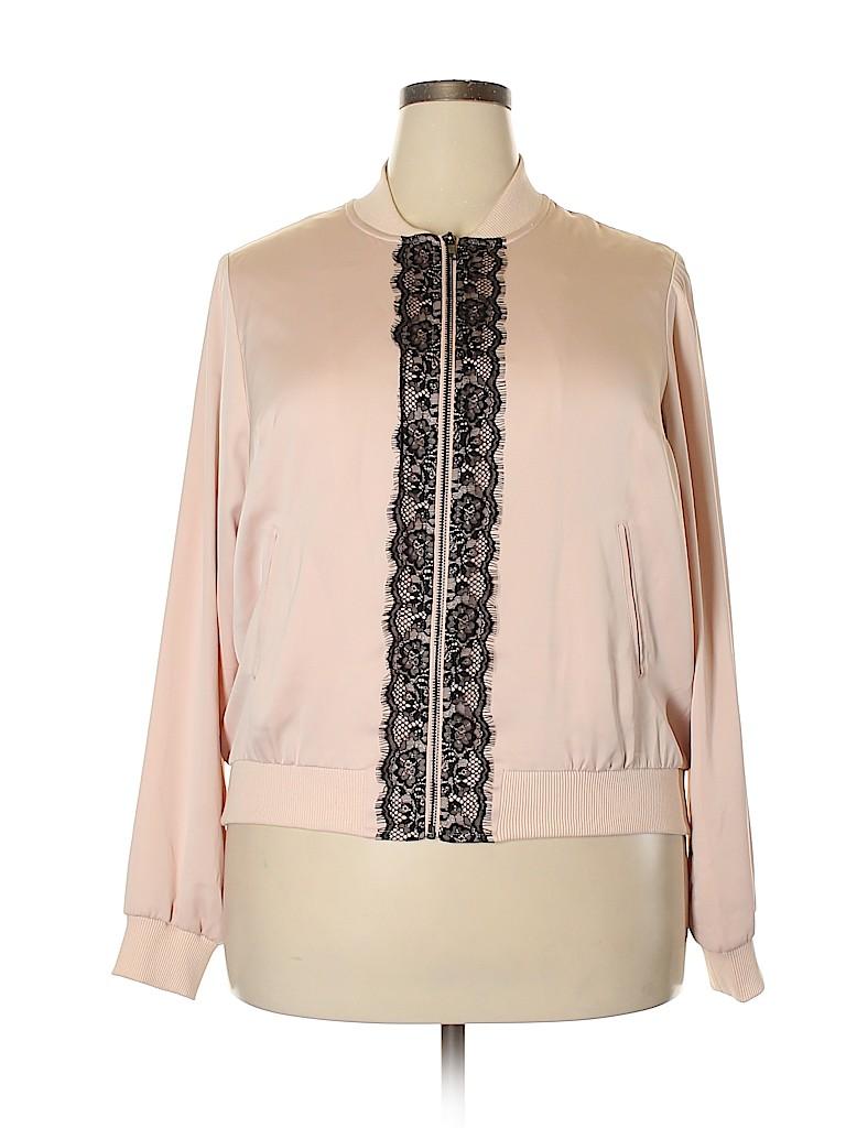 Lane Bryant Women Jacket Size 16 - 14 Plus (Plus)