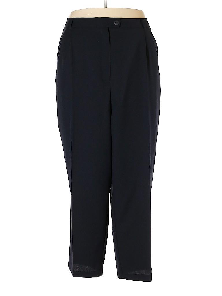 Fashion Bug Women Dress Pants Size 32 (Plus)