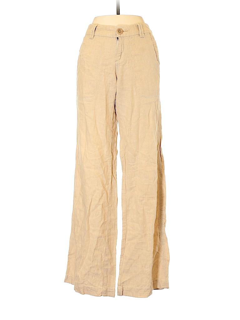 Pilcro and The Letterpress Women Linen Pants Size 2