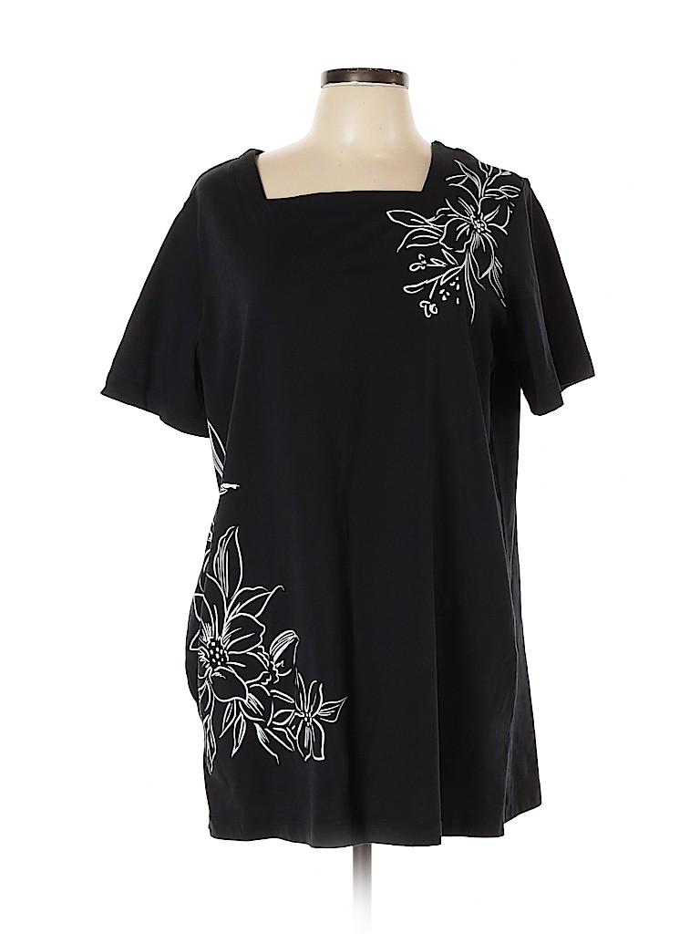 Blair Women Short Sleeve Top Size XL