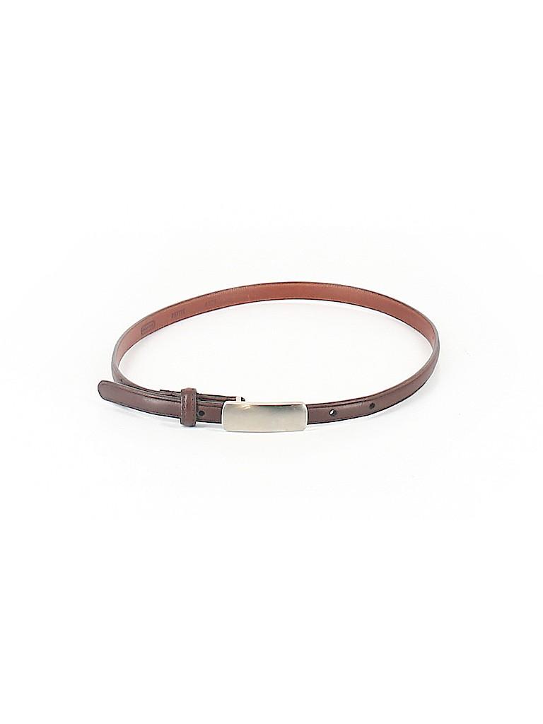 Coach Women Leather Belt Size P (Petite)