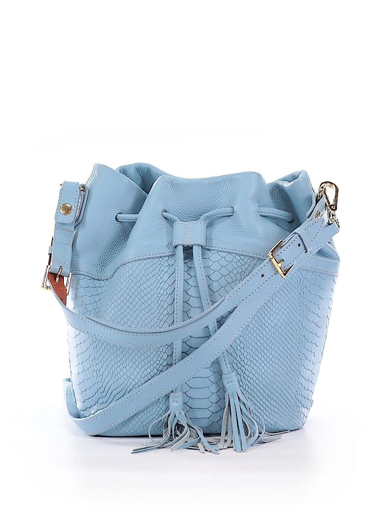 GiGi New York Women Leather Bucket Bag One Size