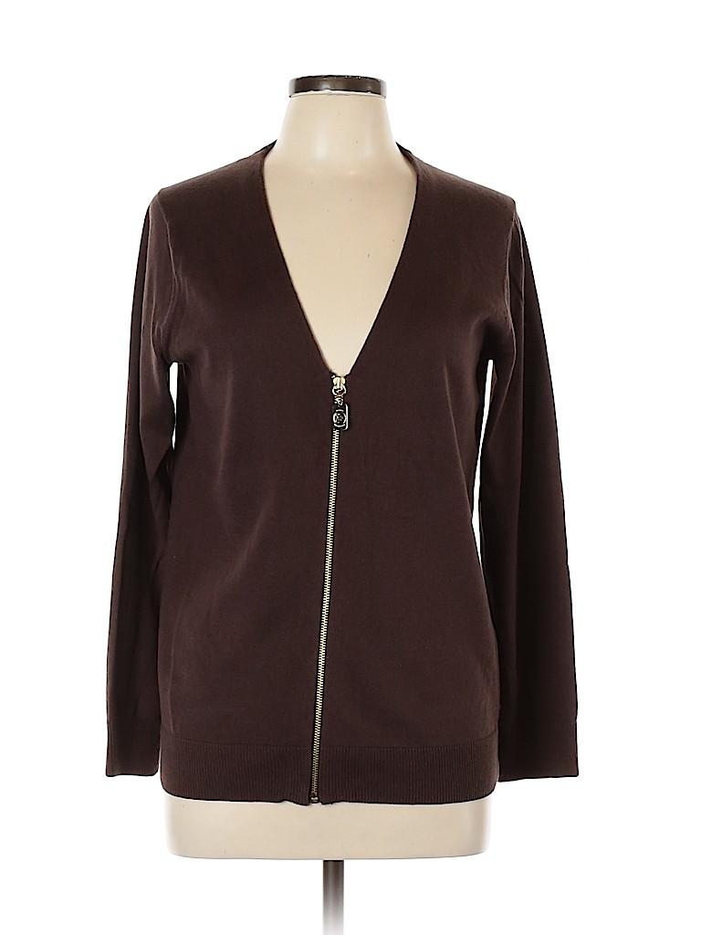 MICHAEL Michael Kors Women Jacket Size L (Petite)