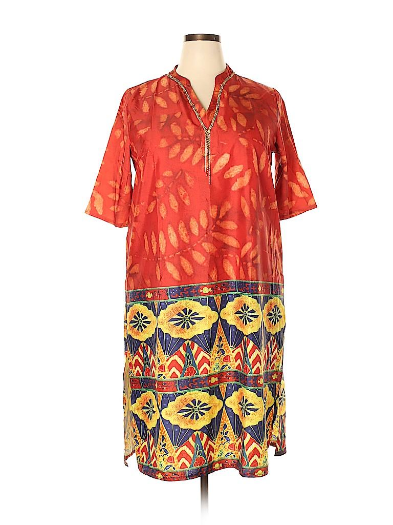 Misslook Women Casual Dress Size 5X (Plus)