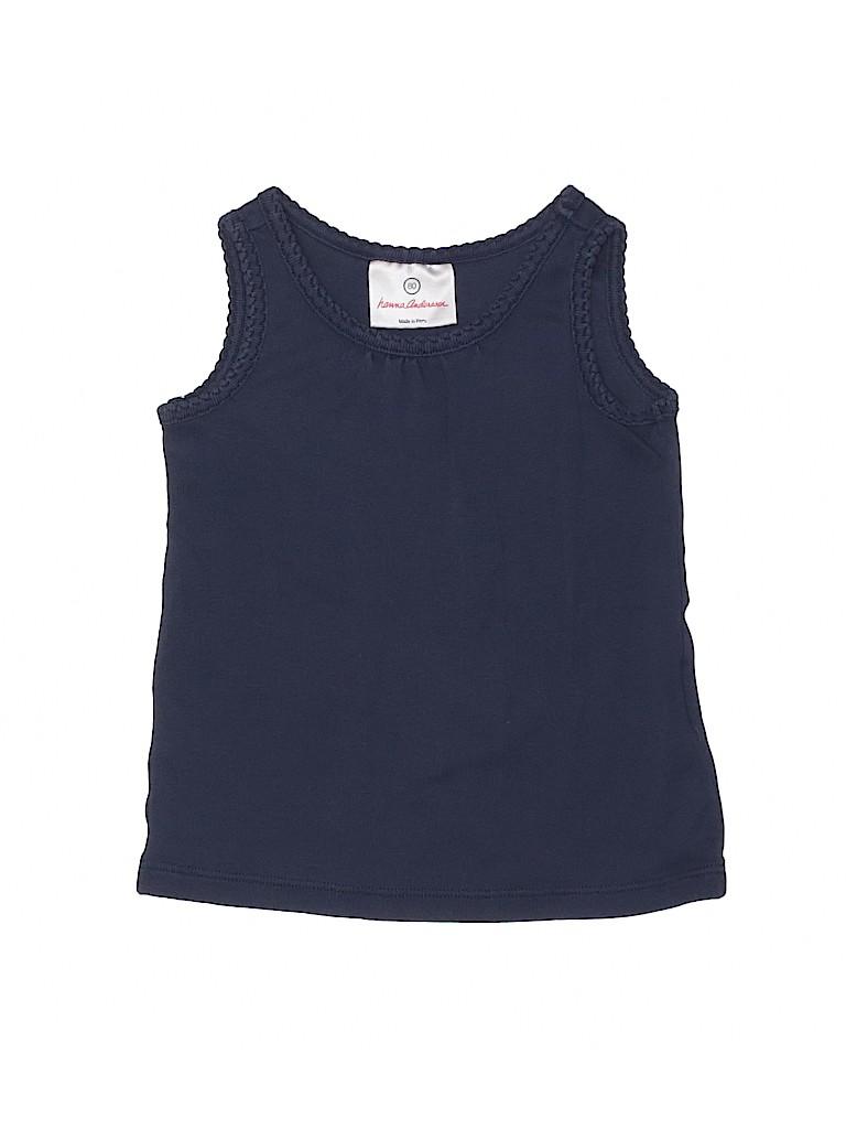 Hanna Andersson Girls Sleeveless T-Shirt Size 80 (CM)