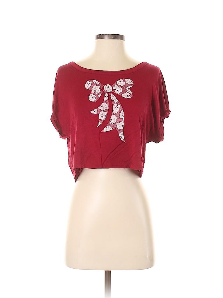 Love Culture Women Short Sleeve Top Size S