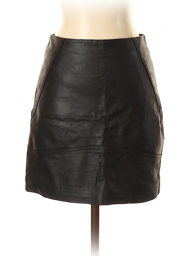 ASOS Women Faux Leather Skirt Size 4
