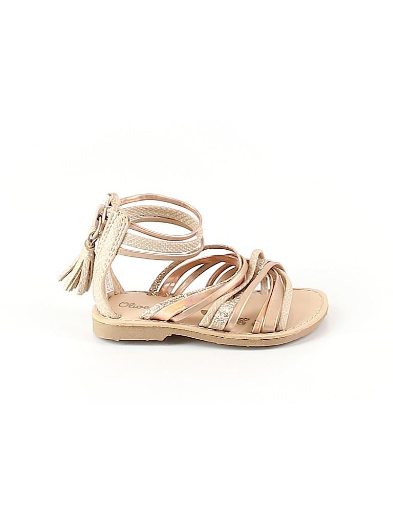 Olive & Edie Girls Sandals Size 5