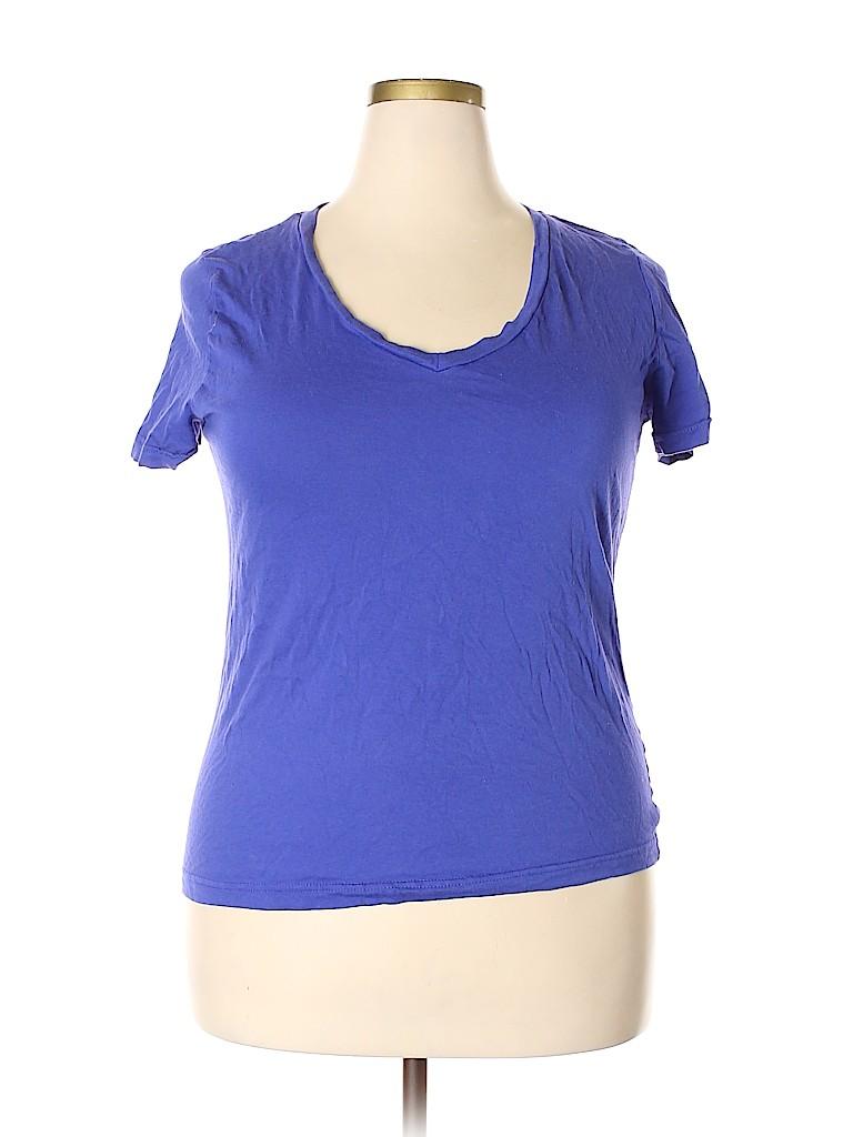 Fury Women Short Sleeve T-Shirt Size 2X (Plus)
