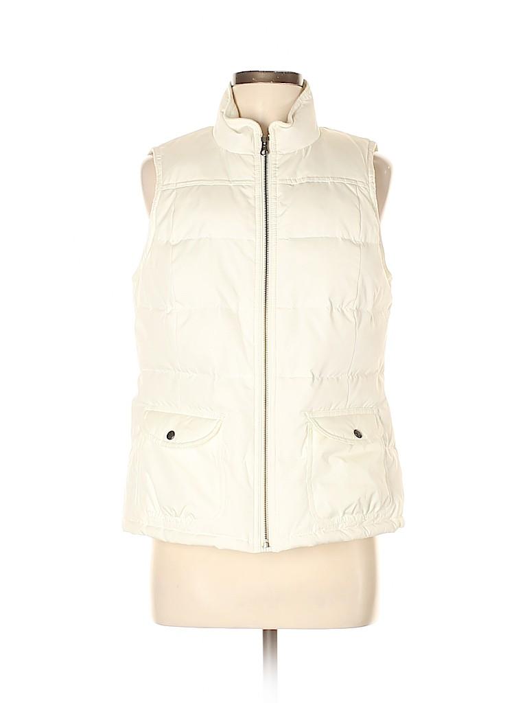 Ann Taylor LOFT Women Vest Size M (Petite)