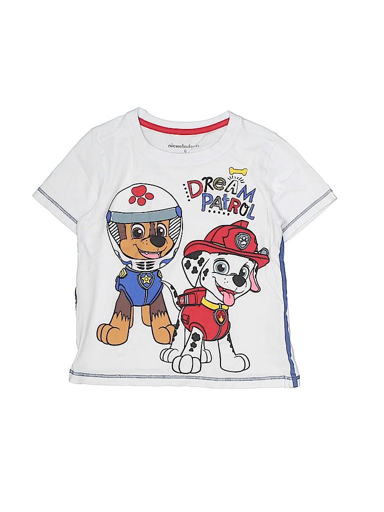 Nickelodeon Girls Short Sleeve T-Shirt Size 6