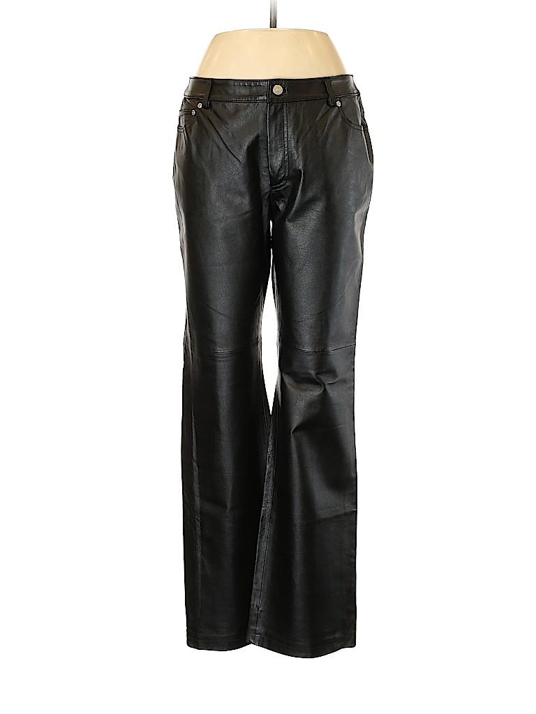 Newport News Women Leather Pants Size 10