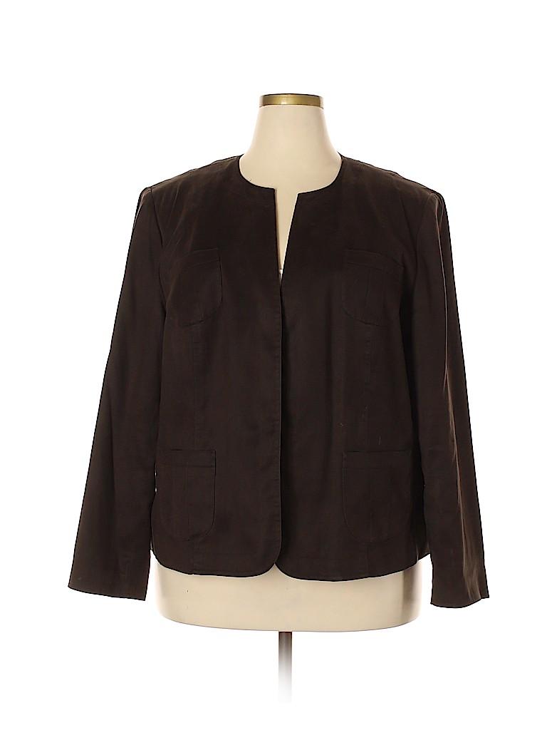 Talbots Women Jacket Size 20 (Plus)