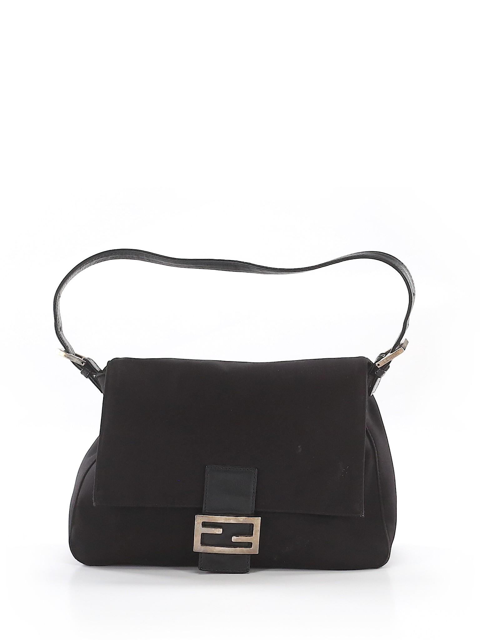 fdd5c840 Details about Fendi Women Black Shoulder Bag Fits All Women