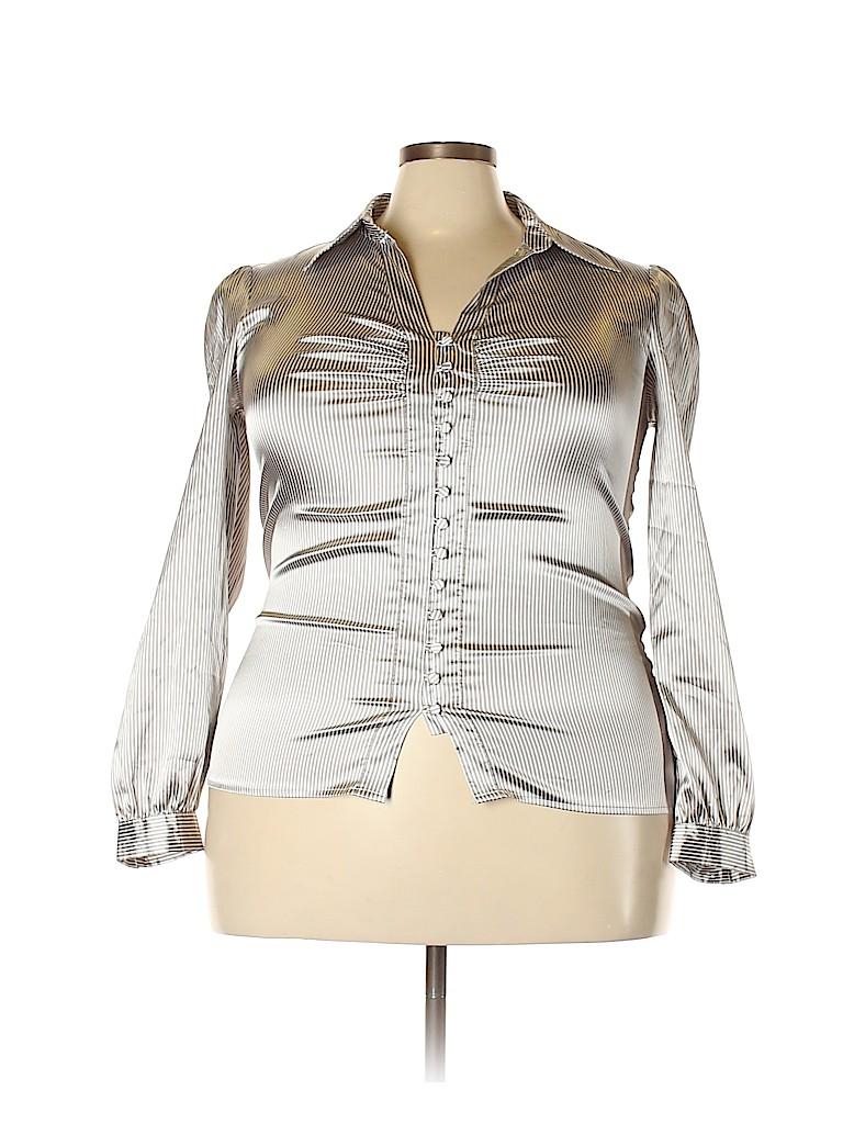 Cato Women Long Sleeve Blouse Size XL