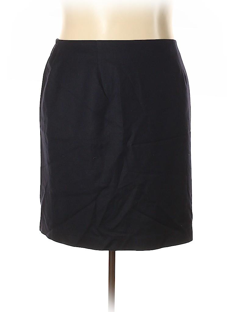 Talbots Women Wool Skirt Size 22 W (Plus)