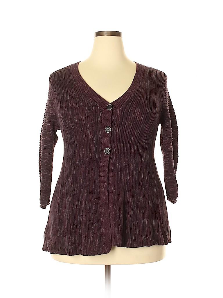 Style&Co Women Cardigan Size 1X (Plus)