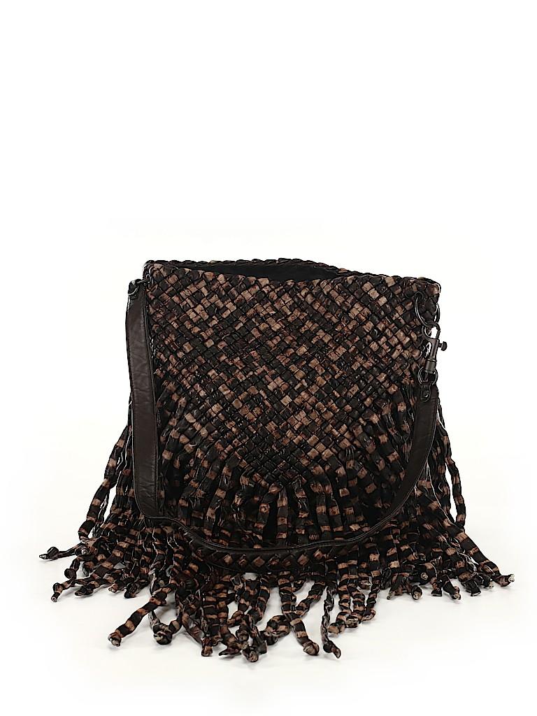 Bottega Veneta Women Leather Crossbody Bag One Size